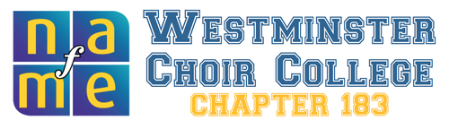 Westminster Choir College NAfME Collegiate Chapter 183
